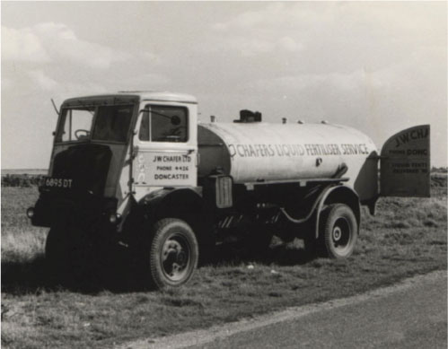 Chafers' liquid fertiliser spreader 1961.