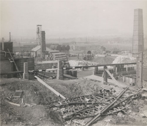 View of site - early 1950s.