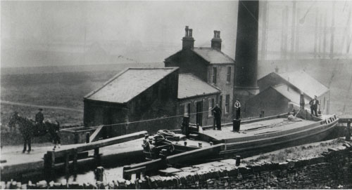 Bradford Canal - late 19th century.