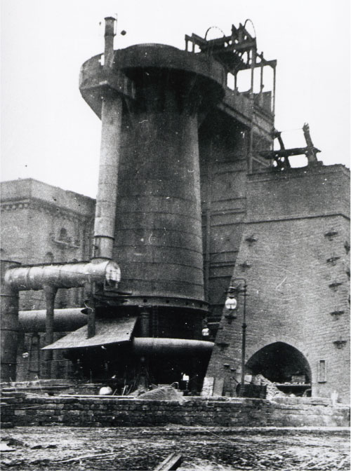 Low Moor Iron Works - late 19th century.