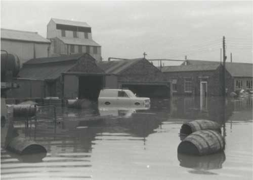 The flood of 1968.