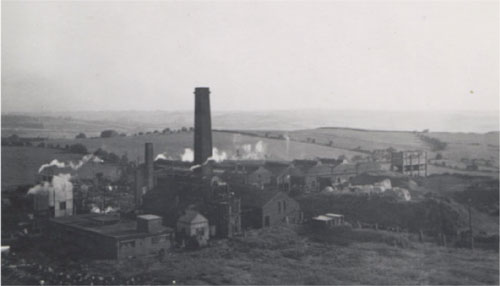 View of Site - early 1960s