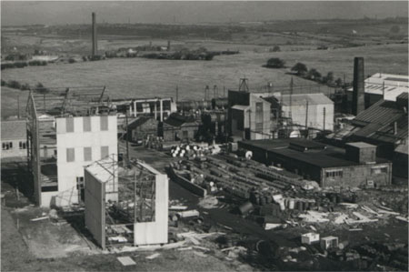 View of the Site in 1962.