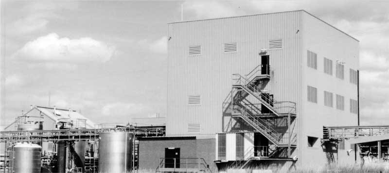 Plant 37, rebuilt for BASF toll manufacturing agreement.